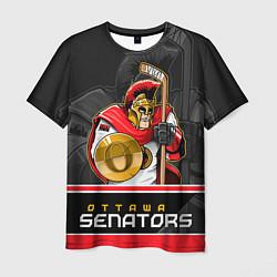 Футболка мужская Ottawa Senators цвета 3D-принт — фото 1
