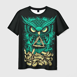 Футболка мужская Bring Me The Horizon: Owl цвета 3D — фото 1