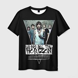 Мужская 3D-футболка с принтом Bring Me The Horizon, цвет: 3D, артикул: 10112870003301 — фото 1