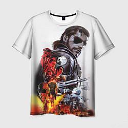 Футболка мужская Metal gear solid 2 цвета 3D — фото 1