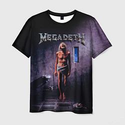 Футболка мужская Megadeth: Madness цвета 3D — фото 1