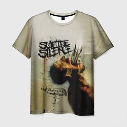 Футболка мужская Suicide Silence: The cleansing цвета 3D — фото 1