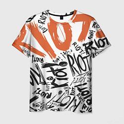 Футболка мужская Paramore: Riot цвета 3D-принт — фото 1