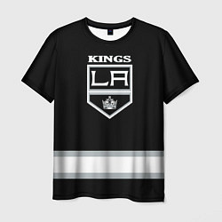 Футболка мужская Los Angeles Kings NHL цвета 3D — фото 1