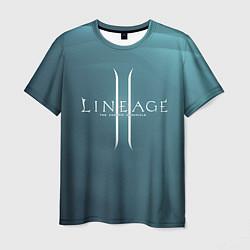 Футболка мужская LineAge II цвета 3D — фото 1