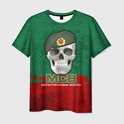 Мужская 3D-футболка с принтом Мотострелковые войска, цвет: 3D, артикул: 10132947903301 — фото 1