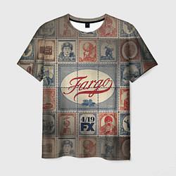 Футболка мужская Fargo brands цвета 3D — фото 1