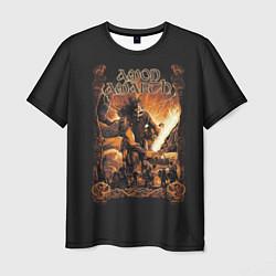 Футболка мужская Amon Amarth: Dark warrior цвета 3D — фото 1