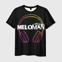 Футболка мужская Meloman цвета 3D — фото 1