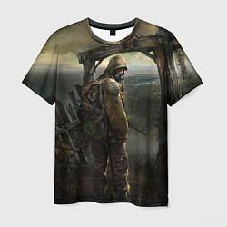 Футболка мужская STALKER: Call of Pripyat цвета 3D — фото 1