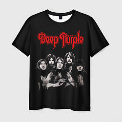 Футболка мужская Deep Purple цвета 3D-принт — фото 1