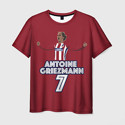 Футболка мужская Antoine Griezmann 7 цвета 3D-принт — фото 1
