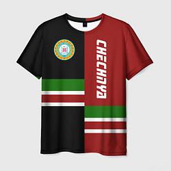 Футболка мужская Chechnya, Russia цвета 3D-принт — фото 1