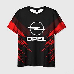 Футболка мужская Opel: Red Anger цвета 3D-принт — фото 1