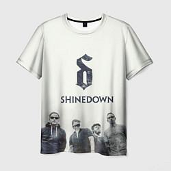 Футболка мужская Shinedown Band цвета 3D — фото 1