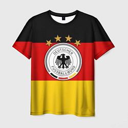 Футболка мужская Немецкий футбол цвета 3D — фото 1