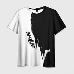Мужская 3D-футболка с принтом Skillet Shadow, цвет: 3D, артикул: 10154867903301 — фото 1