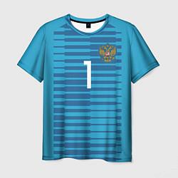 Футболка мужская Акинфеев гостевая ЧМ-2018 цвета 3D-принт — фото 1