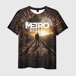 Футболка мужская Metro Exodus: Sunset цвета 3D — фото 1