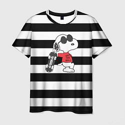Футболка мужская Vans Doggy цвета 3D — фото 1