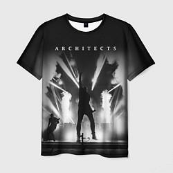 Футболка мужская Architects: Black Metal цвета 3D — фото 1