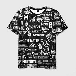 Мужская 3D-футболка с принтом Истинный геймер, цвет: 3D, артикул: 10171055703301 — фото 1