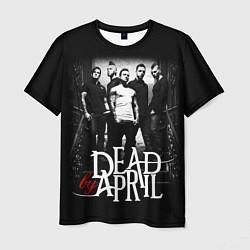 Футболка мужская Dead by April: Dark Rock цвета 3D — фото 1