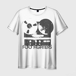 Футболка мужская Foo Fighters: Retro Tape цвета 3D — фото 1