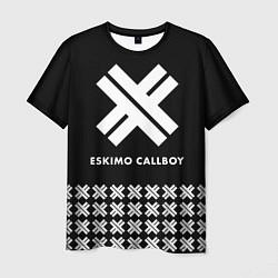 Футболка мужская Eskimo Callboy: Cross цвета 3D-принт — фото 1