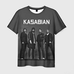 Футболка мужская Kasabian: Boys Band цвета 3D — фото 1