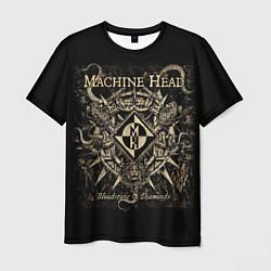 Футболка мужская Machine Head цвета 3D — фото 1