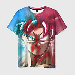Футболка мужская Dragon Ball цвета 3D — фото 1