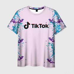Мужская 3D-футболка с принтом TikTok, цвет: 3D, артикул: 10200989703301 — фото 1