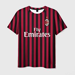 Футболка мужская Ibrahimovic home 19-20 цвета 3D — фото 1