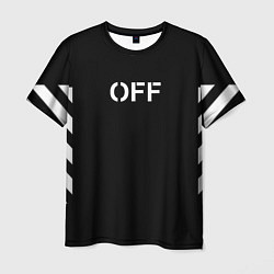 Футболка мужская OFF-WHITE цвета 3D — фото 1