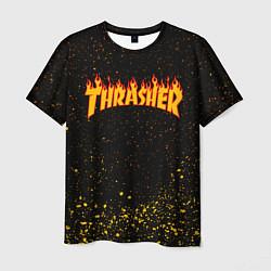 Футболка мужская Thrasher цвета 3D — фото 1