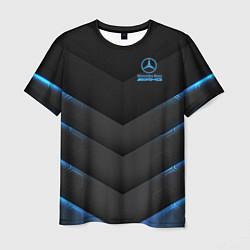 Мужская 3D-футболка с принтом Mercedes-AMG, цвет: 3D, артикул: 10208872903301 — фото 1