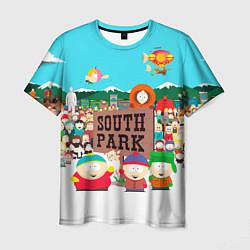 Футболка мужская South Park цвета 3D-принт — фото 1