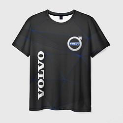 Футболка мужская VOLVO цвета 3D-принт — фото 1