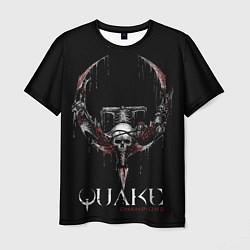 Футболка мужская Quake Champions цвета 3D — фото 1