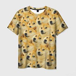 Футболка мужская Doge цвета 3D — фото 1