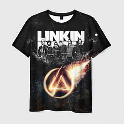 Футболка мужская Linkin Park: Comet цвета 3D-принт — фото 1