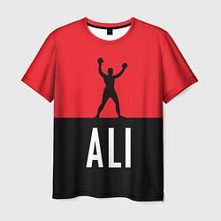 Футболка мужская Ali Boxing цвета 3D — фото 1
