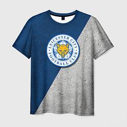 Футболка мужская Leicester City FC цвета 3D-принт — фото 1