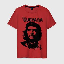 Футболка хлопковая мужская Che Guevara цвета красный — фото 1