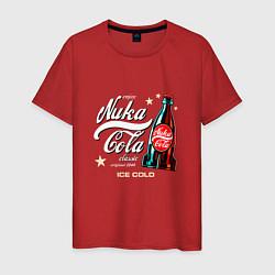 Футболка хлопковая мужская Nuka-Cola Enjoy цвета красный — фото 1