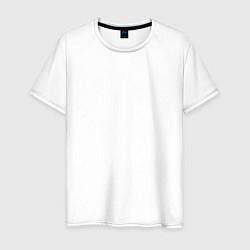 Футболка хлопковая мужская The XX: White X цвета белый — фото 1