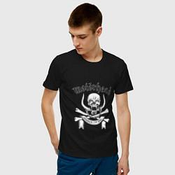 Футболка хлопковая мужская Motrhead цвета черный — фото 2