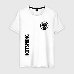 Футболка хлопковая мужская The Offspring цвета белый — фото 1