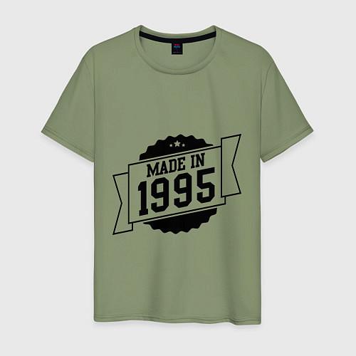 Мужская футболка Made in 1995 / Авокадо – фото 1